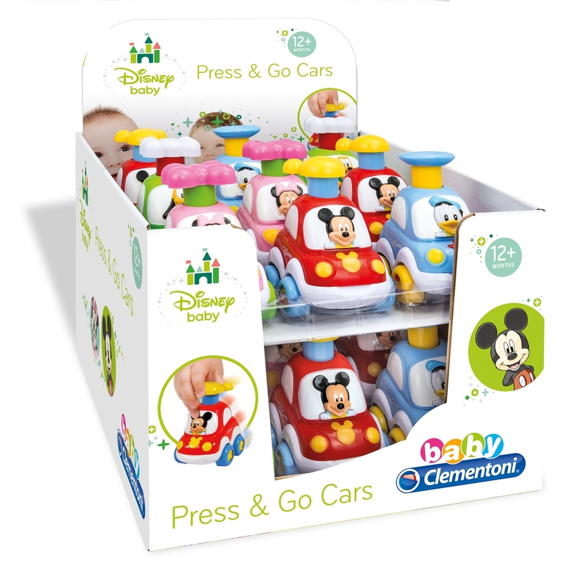 DISNEY SAMOCHODZIKI PRESS AND GO! - 17,90 PLN