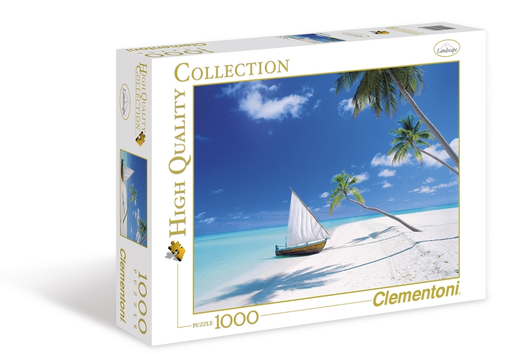 Puzzle 1000 el HQ  Maldive Islands - 17,51 PLN