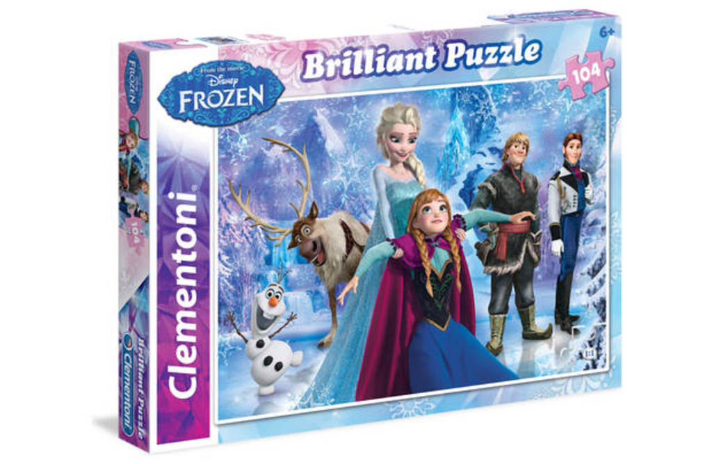 Puzzle 104 el Brilliant  Frozen - 15,80 PLN