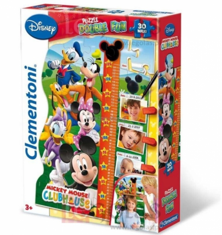 Puzzle 30 el Maxi Miarka  Mickey Mouse Club House - 18,06 PLN