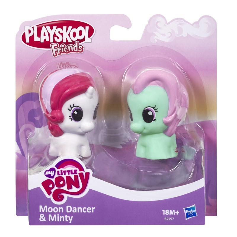 Playskool My Little Pony B2597 2-pak Moon Dancer & Minty HASBRO B1910 - 23,03 PLN