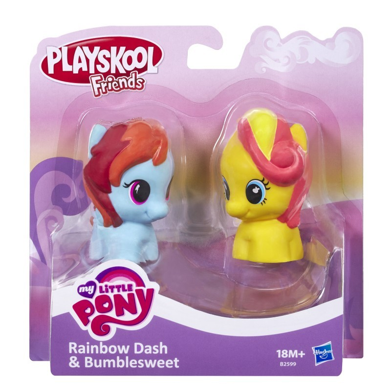 Playskool My Little Pony B2599 2-pak Rainbow Dash& Bumble Sweet HASBRO B1910 - 29,52 PLN