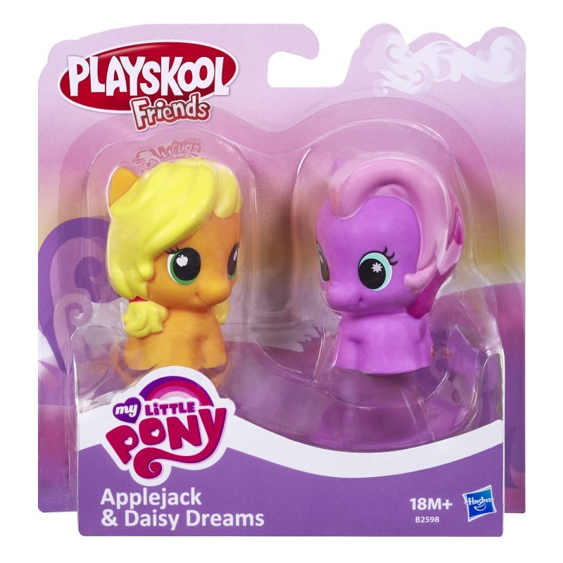 Playskool My Little Pony B2598 2-pak Applejack & Daisy Dreams HASBRO B1910 - 29,99 PLN