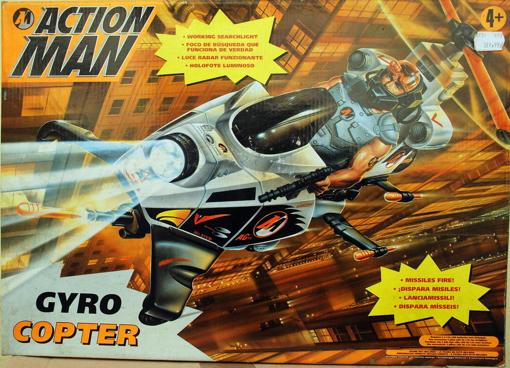 Action Man Gyro Copter - 89503 - 140,82 PLN