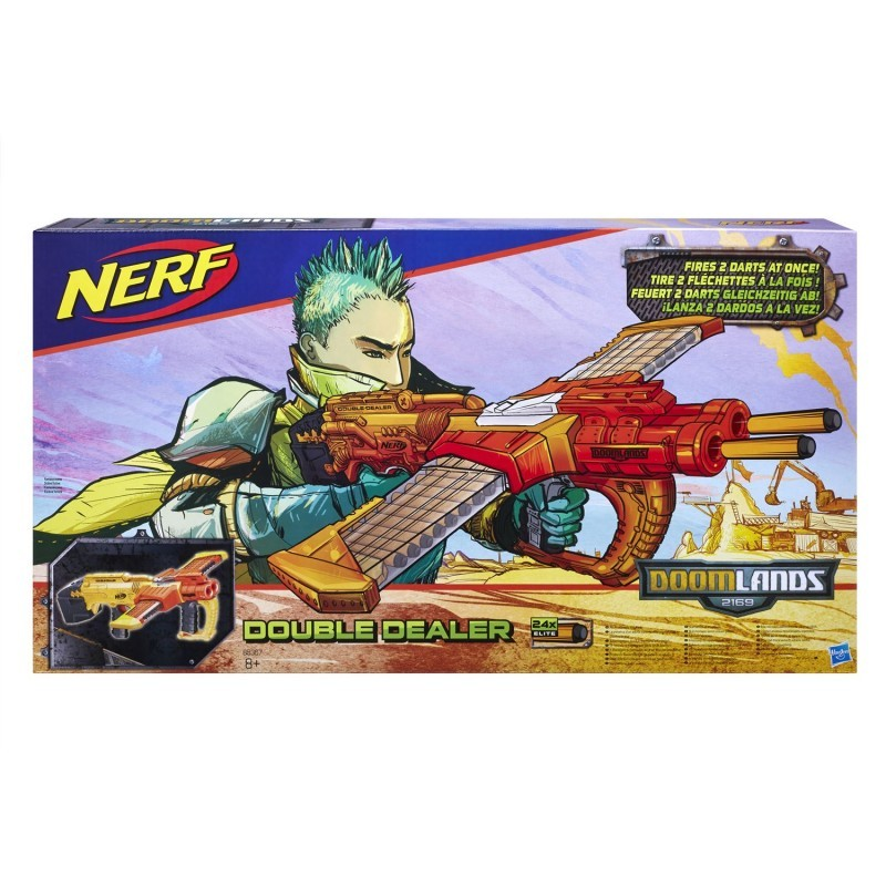Nerf Doomlands Double Dealer B5367  HASBRO - 175,09 PLN