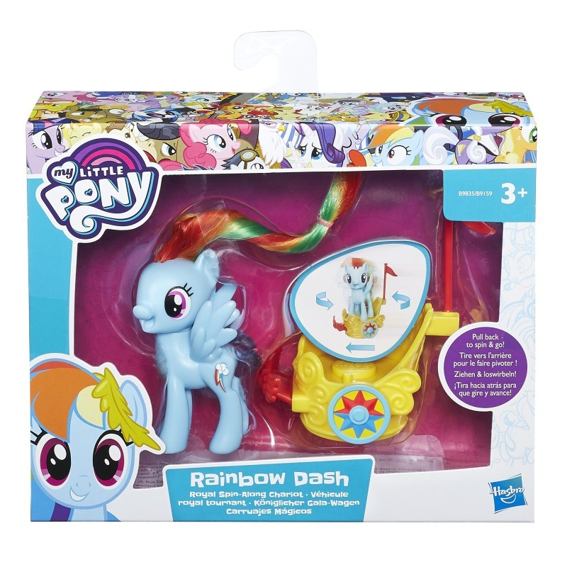 My Little Pony Kucykowy Rydwan B9835 Rainbow Dash HASBRO B9159 - 40,79 PLN
