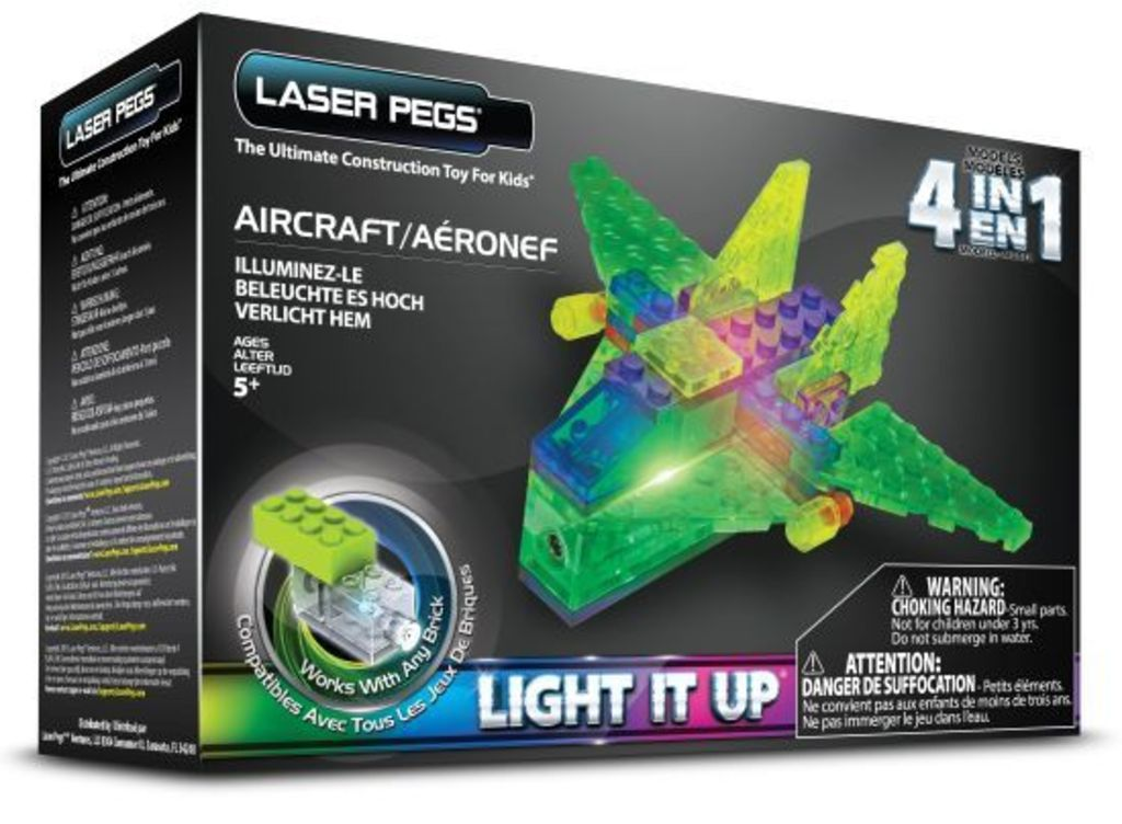 Laser Pegs 4 in 1 Aircraft MPS100B  - 46,79 PLN