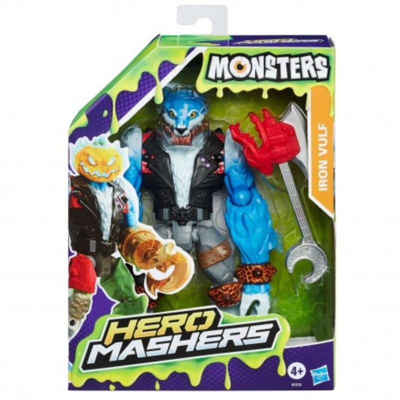 Hero Mashers Monsters B7213 Iron Vulf  HASBRO - 15,59 PLN