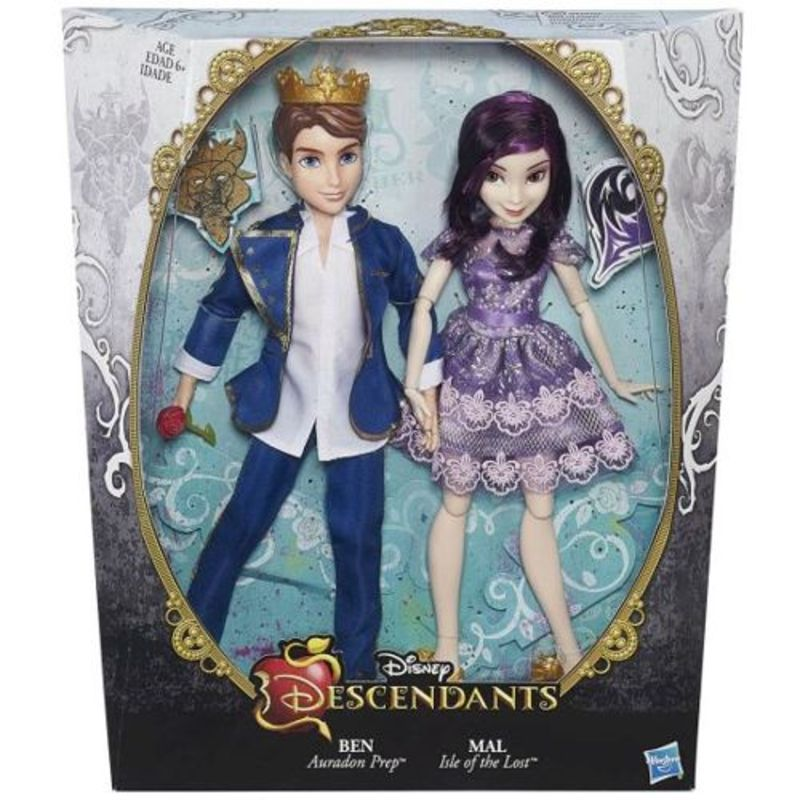 Disney Descendants B3128 Ben & Mal HASBRO - 74,09 PLN