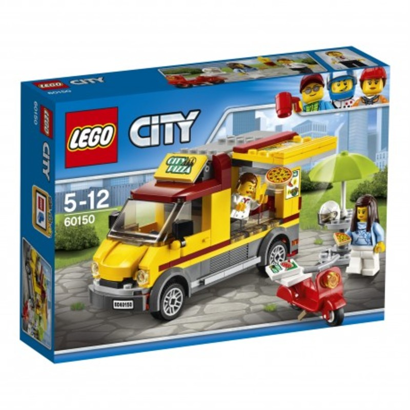 LEGO CITY - Foodtruck z pizzą 60150 - 71,99 PLN