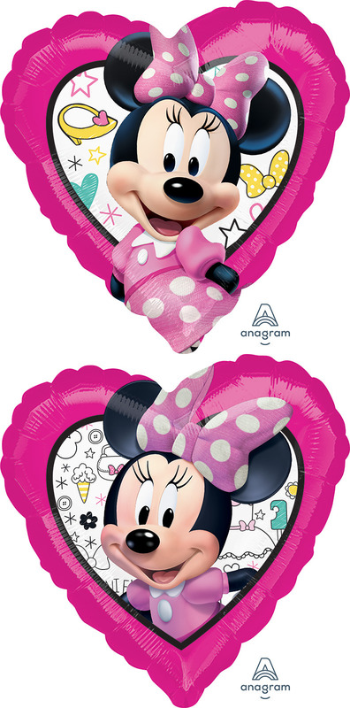 Minnie mouse 2 sided design 43cm